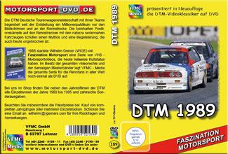 DTM 1989 Saisonfilm mit allen Rennen *BMW03*AMG* D189