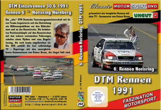 DTM-spezial 1991*Norisring *BMW M3 AudiV8 Quattro *D202