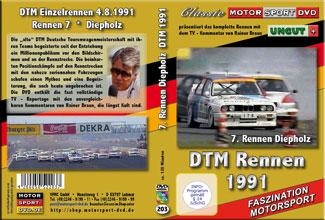 DTM-spezial 1991 *Diepholz  BMW M3*Mercedes 190E *D203