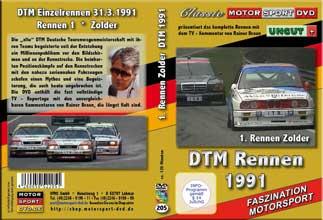 DTM-spezial 1991 * Zolder BMW 03* Mercedes * Audi *D205