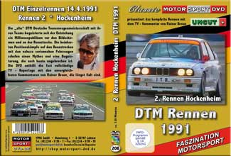 DTM-spezial 1991 * Hockenheim * BMW M3 *D206
