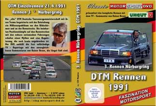 DTM-spezial 1991 *Eifelrennen Nürburgring *BMW M3 *D207