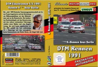 DTM-spezial 1991 * Avus  BMW M3 * Audi V8 Quattro *D208