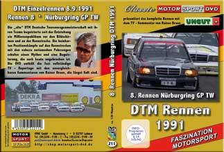 DTM-spezial 1991* Nürburgring * 190E 2.5-16 Evo2 *D211