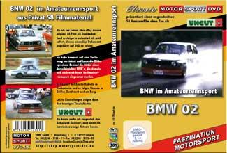 D301* Aufbau und Einsatz BMW 02  im Rennsport  S8 Film*
