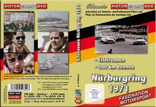 1971 Nürburgring  * 300KM Rennen * Eifelrennen S8* D302