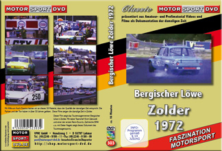 1972  Rennsport Zolder - Bergischer Löwe * BMW02*  D303