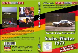 Sachs-Winter Rallye 1977 * Walter Röhrl * Achim Warmbold *Amateur S8 Film* D304