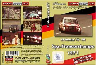1971 24 Stunden  Spa-Francorchamps  Heyer*CAPRI * D308