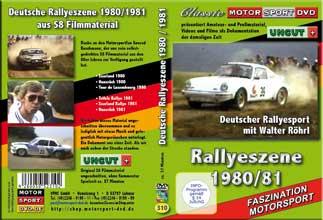 DRM 80 - 81 Rallyemeisterschaft mit Walter Röhrl * D310