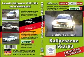 nationaler Rallyesport 1982-1983 von S8 Filmen* D311