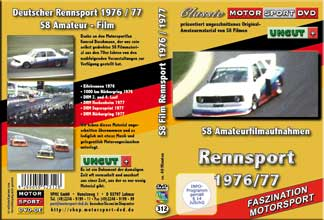 1976 - 1977 Deutscher Rennsport  aus S8 Filmen* D312