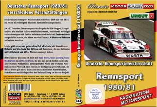 1980 / 81 Deutsche Rennsport Meisterschaft * FORD *D414