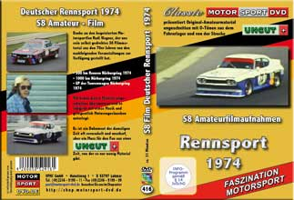 1974 Car Racing  Ford Zakspeed * BMW Alpina * Stuck