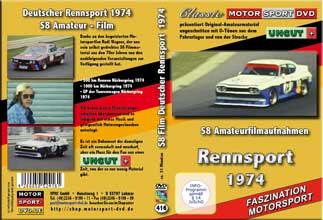 1974 Rennsport *BMW ALPINA* Ford CAPRI*Stuck *Zaakspeed * D416 * Motorsport