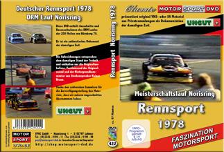 1978 Deutsche Rennsportmeisterschaft Norisring * D422