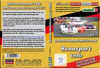 1980 Deutsche Rennsport Meisterschaft Teil 1 * D427