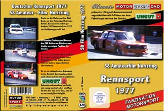 1977 Rennsport Norisring S8 Amateur-Filmmaterial`Rennsportmeisterschaft *D429