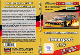 1977 Deutsche Rennsport Meisterschaft *Ford Capri *D440