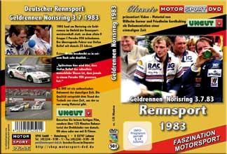 1983 Rennsport *Geldrace Norisring* Stefan Bellof *D501