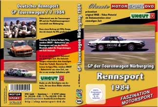 1984 GP Tourenwagen Nürburgring *BMW 633*Jaguar*  D504