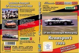 1984 GP Tourenwagen Nürburgring *BMW 633*Jaguar*  D504