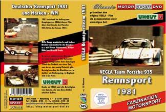 1981 Rennsport * VEGLA Porsche 935 * Walter Röhrl* D505