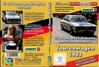 1983 Tourenwagen EM Nürbugring UNCUT * BMW* Jaguar D510