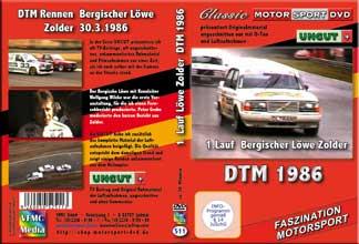 DTM 1986 Zolder 1. Lauf *VOLVO * UNCUT Material *D511