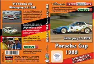 Porsche 944 Turbo Cup 1989 Nürburgring 3.9. * D 519