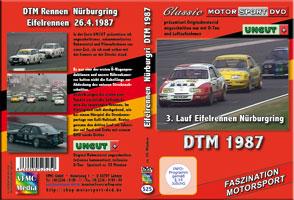 DTM 1987 Eifelrennen 3. Lauf * BMW M3 * Sierra* DVD 525