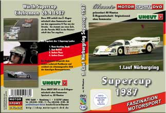 Supercup 1987 * 1.Lauf Eifelrennen  * Porsche * D538