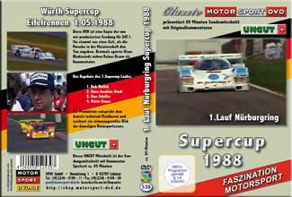 Supercup 1988 1.Lauf Nürburgring * Porsche * DVD 539