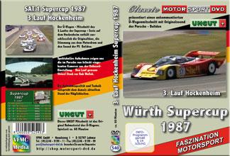 Supercup 1987 * 3.Lauf Hockenheim * Porsche * D540