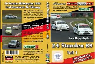 24 Stunden Nürburgring 1989 Teil 1* BMW *Sierra * D551