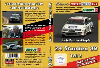 24 Stunden Nürburgring 1989 Teil 2* BMW *Sierra * D552