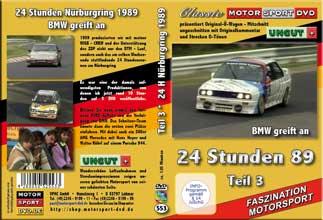 24 Stunden Nürburgring 1989 Teil 3* BMW *Sierra * D553