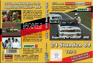 24 Stunden Nürburgring 1989 Teil 5* BMW *Sierra * D555