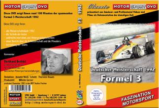 Formel 3 Meisterschaft 1992 * D603