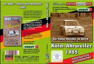 Köln-Ahrweiler Rallye 1985 * Klassiker * D701