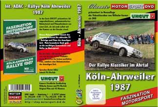 Köln-Ahrweiler Rallye 1987 * Klassiker * D702