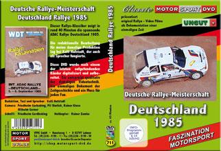 DRM special * Deutschlandrallye 1985 * D711