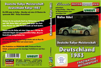 D712 * DRM special * Deutschlandrallye 1983 *Walter Röhrl Lancia Rally