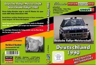 Deutschlandrallye 1990 * Lancia integrale* Holzer* D713