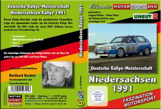 DRM special * ADAC Rallye Niedersachsen 1991 * D721