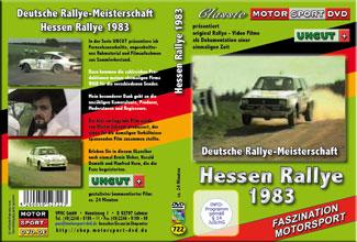 Hessen Rallye 1983 * OPEL*  Weber * Demuth* D722