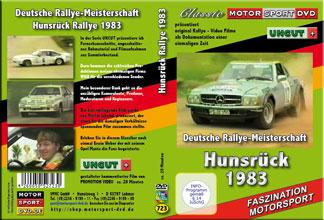 Hunsrückrallye 1983 *Opel Manta400 *Audi quattro * D723