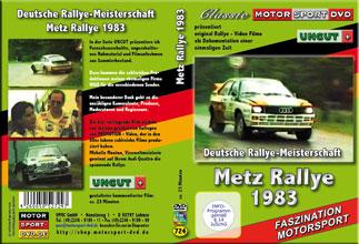Metz Rallye 1983 AUDI quattro * MIchele Mouton * D724