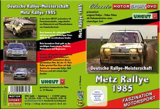 Metz Rallye 1985 * OPEL *AUDI quattro*Peugeot*  D726