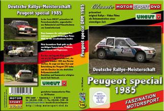 Rallyemeisterschaft 1985 * Peugeot spezial * D728